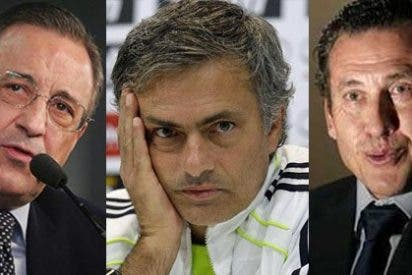 """Mourinho: """"Si ganáis un título, yo me quedo y a Valdano lo echan"""""""