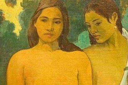 """Una perturbada ataca un cuadro de Gauguin al grito de """"¡es maléfico!"""""""