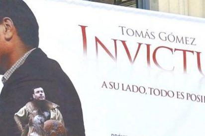 El PSOE de Madrid retira el cartel de 'Invictus' de Gómez