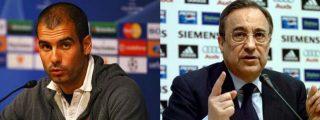 Guardiola destapa la 'central lechera', una trama informativa de periodistas pro Florentino Pérez
