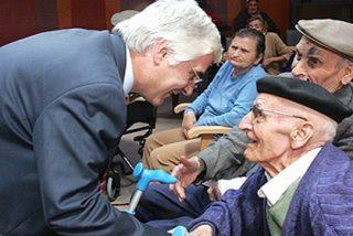 El despiporre económico de Barreda se mantiene a costa de las ridículas pensiones de los castellano manchegos