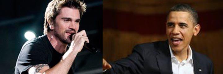 Obama y Juanes hablan en la Casa Blanca sobre los inmigrantes latinos
