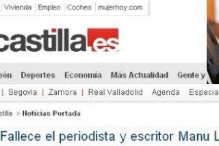 El Norte de Castilla 'mata' a Manu Leguineche