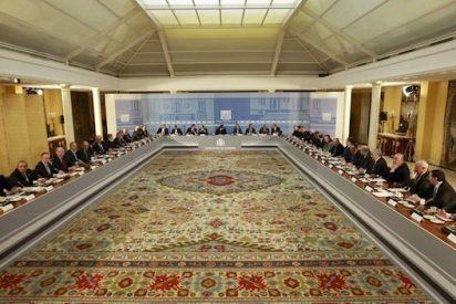 Los invitados a la mesa de Rodríguez Zapatero
