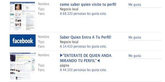 Los eventos de Facebook, usados con fines maliciosos