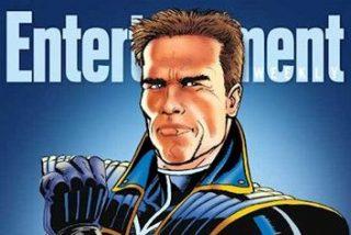 Arnold Schwarzenegger tiene cómic: 'The Governator'