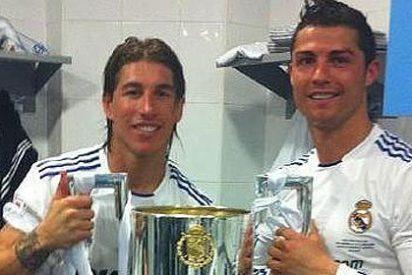 Sergio Ramos: «La Copa no se cayó, saltó ella cuando vio a tantos madridistas»