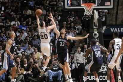 Los Spurs salvan la papeleta ante los Memphis de Marc Gasol