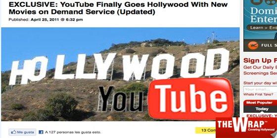 Youtube ultima su servicio de 'alquiler' de películas