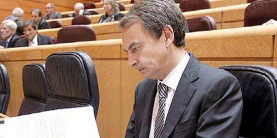 Zapatero se va por la puerta de atrás