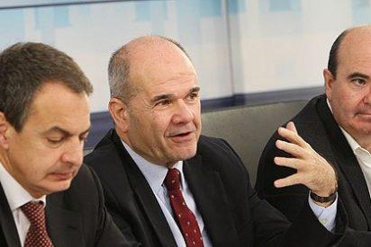 El PSOE se agrieta 48 horas después de la 'fuga' de Zapatero
