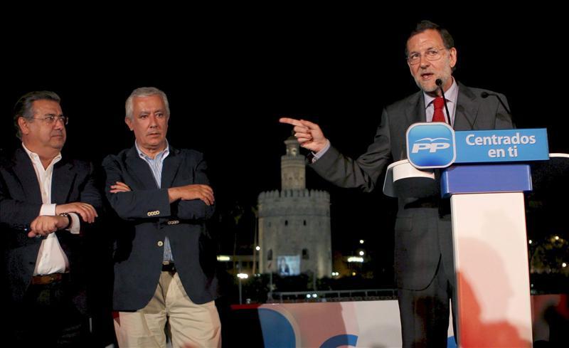 """Rajoy comienza la campaña del 22-M con el paro como """"adversario"""" y no el PSOE"""