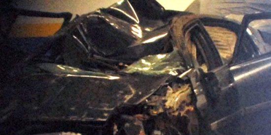 'Sálvame' muestra las fotos del coche de Ortega Cano tras el accidente y aporta nuevos datos sobre su estado de salud