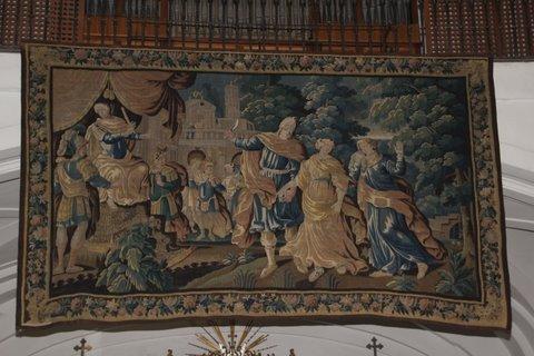 Fiesta de santa Rita con exposición de tapices de Rubens