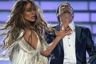 Jennifer Lopez pone a cien a su marido Marc Anthony con un baile provocador
