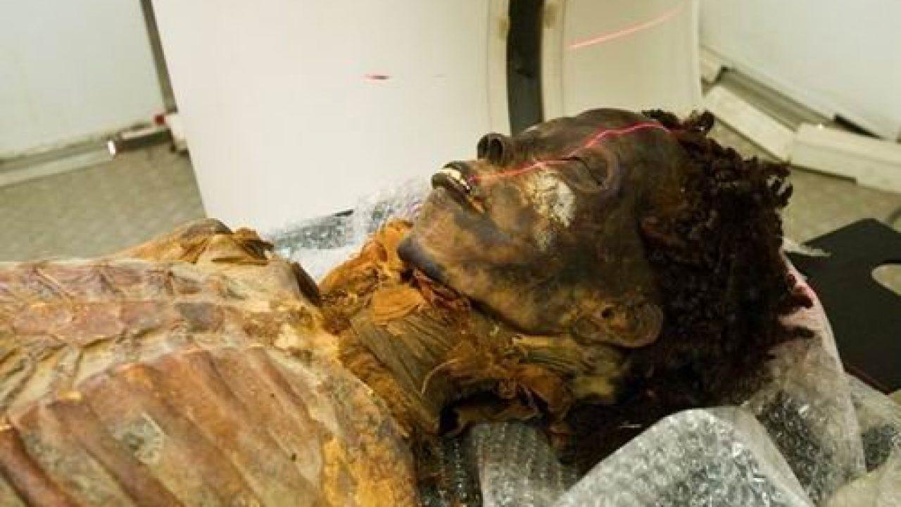 El caso de la momia de la princesa con problemas de corazón