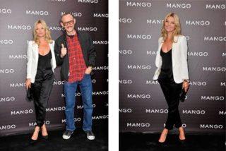 Kate Moss, invitada de excepcion, en la colección Otoño-Invierno de Mango en París
