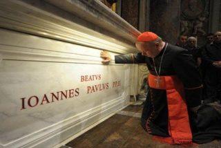 Más de 350.000 personas ya han visitado la tumba de Juan Pablo II