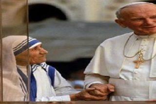 """Benedicto XVI dice que Wojtyla y la Madre Teresa fueron """"portadores de esperanza"""""""