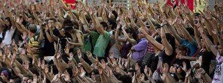 Los «indignados» deciden mantener las acampadas en Madrid, Barcelona y Sevilla