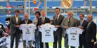La Fundación del Real Madrid presenta el partido por África