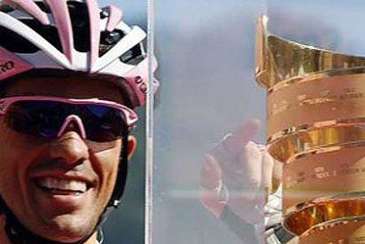 El español Alberto Contador gana con autoridad el Giro de Italia