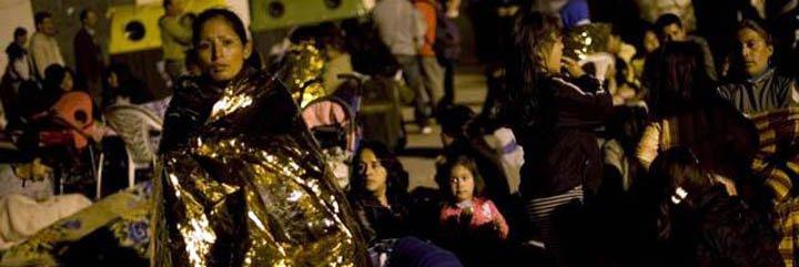 Los ecuatorianos que aún no pueden regresar a sus casas serán atendidos en un campamento unificado