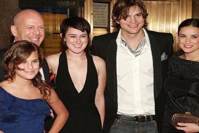 La hija menor de Bruce Willis y Demi Moore, pillada haciendo 'botellón'