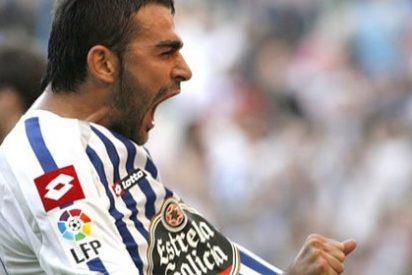 El Deportivo mantiene viva la esperanza gracias a 'Magic' Valerón