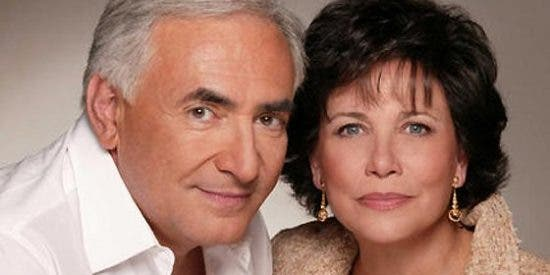Y a todo esto, ¿qué piensa Anne Sinclair, la esposa de Dominique Strauss-Kahn?