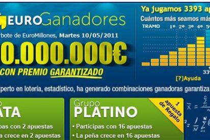 100 millones de Euros para el nuevo Euromillones