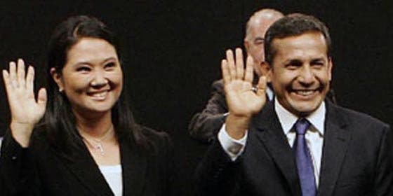 Keiko Fujimori supera a Humala por primera vez en los sondeos