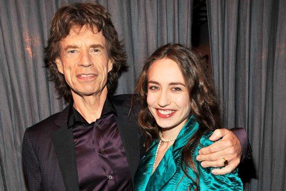 La hija de Mick Jagger posa para 'Playboy' como Dios la trajo al mundo