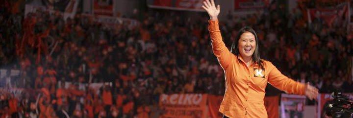 """Keiko Fujimori: """"Mi compromiso es cerrar la brecha económica de la pobreza"""""""