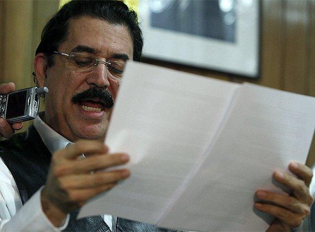 Ex presidente Zelaya regresó a Honduras con un mensaje conciliador