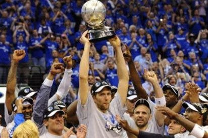 Dallas accede a la final de la NBA a lo grande
