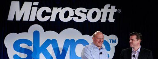 Microsoft compra Skype por 8.500 millones de dólares