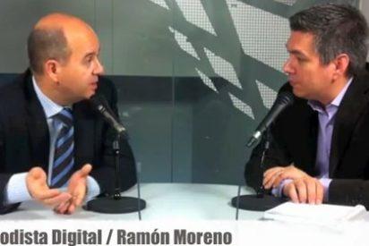 """Ramón Moreno (PP): """"Cuando el PSOE está desesperado saca a pasear a Urdaci y Aznar"""""""