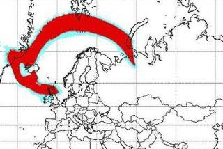 Las cenizas del volcán Grímsvötn perturban ya a Irlanda y Reino Unido