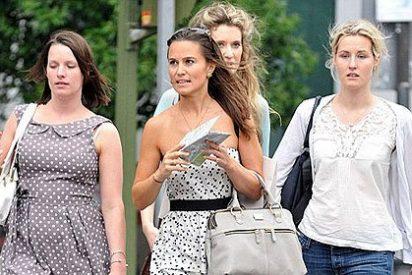 Pippa Middleton está en Madrid con su ex novio y unas amigas