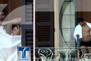 Shakira y Piqué, pillados ligeros de ropa en Italia