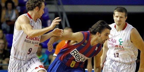 El Barça pone un pie en la final de la ACB y el Madrid se deja empatar la serie