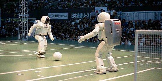 Una pareja de robots inventa su propio idioma y 'habla' con él