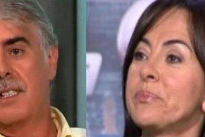 Siro López y Carmen Barceló se enzarzan por el vídeo de Telemadrid