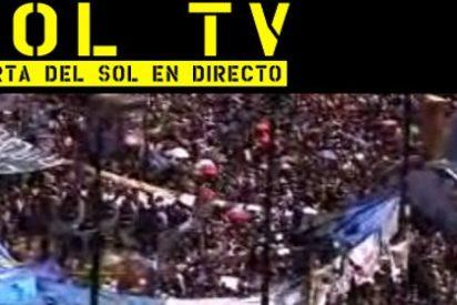 La Puerta del Sol, en directo