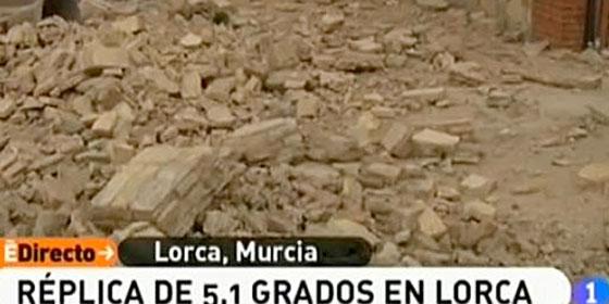 Dos terremotos sacuden Lorca dejando ocho muertos y 167 heridos