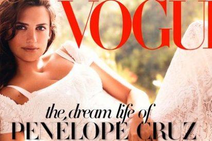 Penélope Cruz rompe a llorar en plena entrevista con 'Vogue'