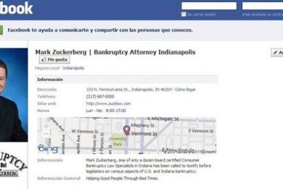 Si te llamas Mark Zuckerberg, tienes un problema con Facebook