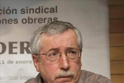 Toxo: 'El borrador del Gobierno Zapatero no va a resolver los problemas'