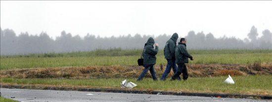 Cuatro muertos al accidentarse dos avionetas junto al aeropuerto de Asturias